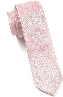 The Tie Bar Twill Paisley 100% Woven Silk Skinny Tie
