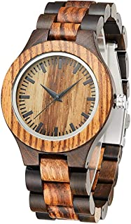 Handmade Wood Wrist Watch Fashion Wooden Watches for Women Personalised with Gift Box