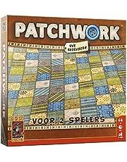999 Games - Patchwork Bordspel -  vanaf 8 jaar - Een van de beste spellen van 2015 - Uwe Rosenberg - Tile placement - voor 2 spelers - 999-PAT01