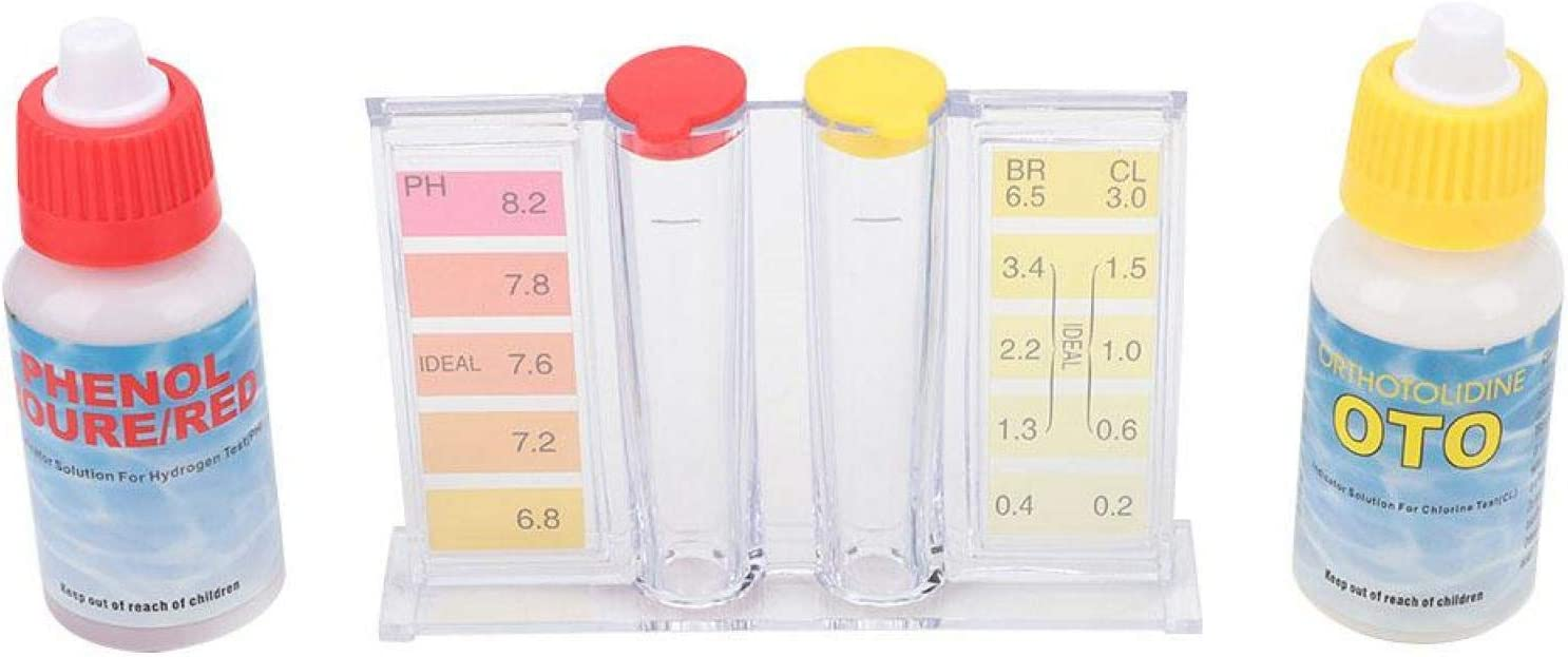 Max 40% OFF Aoutecen PH Test Recommendation Kit Convenient for Chlorine Testing and