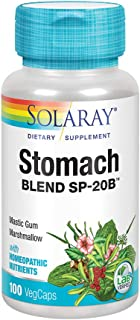 Solaray Stomach Blend SP-20B | Herbal Blend w/Cell Salt Nutrients to Help Support Stomach & Digestive Health | Non-GMO, Ve...