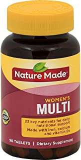 Nature Made, Multi For Her with Iron and Calcium, 90 Count (Pack of 1)