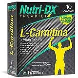 L-Carnitina Líquida| Suplemento Deportivo| Quemagrasas| L-Carnitina Pura| Ayuda al Crecimiento de los Músculos| Vitamina B6| Mayor Resistencia| 10 Ampollas