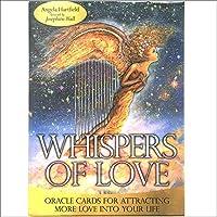 「Whisper Of Love」タロットカード、家族パーティーソリティアゲーム占い運命デッキゲームテーブルパーティーパズルボードゲーム、50カード、英語版