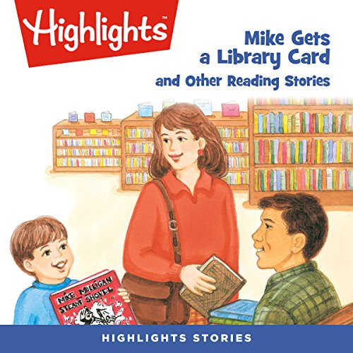 Mike Gets a Library Card and Other Reading Stories copertina