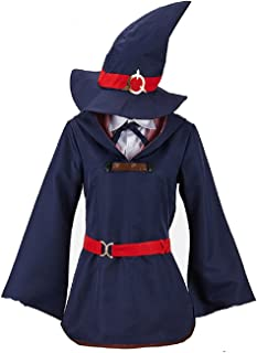 Little Witch Academia Costume KagariAtsuko Cosplay Uniform Dress Outfit for Halloween