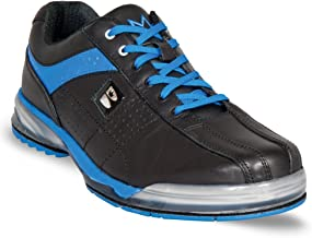 Brunswick Mens TPU-X Performance Bowling Shoes- Right Hand Wide (11 1/2 E US, Black/Royal)