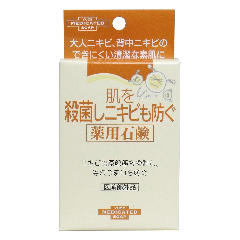 悲しいドロー簿記係ユゼ 肌を殺菌しニキビも防ぐ薬用石鹸 (110g)