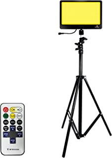 CONPEX LED Camping Light with Tripod Stand Remote Control...