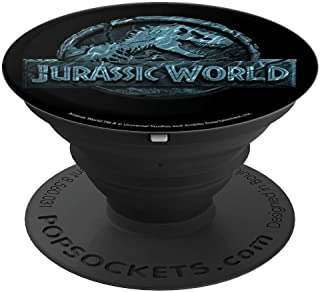Jurassic World Two Logo Lost In The Deep - PopSockets Grip and Stand for Phones and Tablets