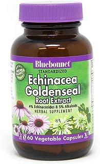 BlueBonnet Echinacea Goldenseal Root Extract Supplement, 60 Count