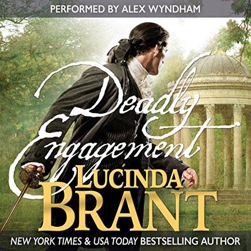Deadly Engagement audiobook cover art