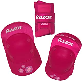 Best razor youth bike pad set with guards - pink Reviews