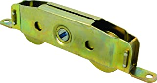 Prime-Line, D 1607 Wheel Roller Assembly, Single Unit, Steel – Tandem Wheels, Steel Ball Bearings, Fully Adjustable