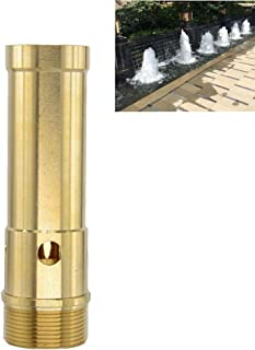 Thaoya Brass Column Fireworks Water Fountain Nozzle Sprinkler Spray Head Pond (G3/4)