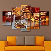 HUDEHUA On The Rocks Multi Panel Canvas Wall Art No frame