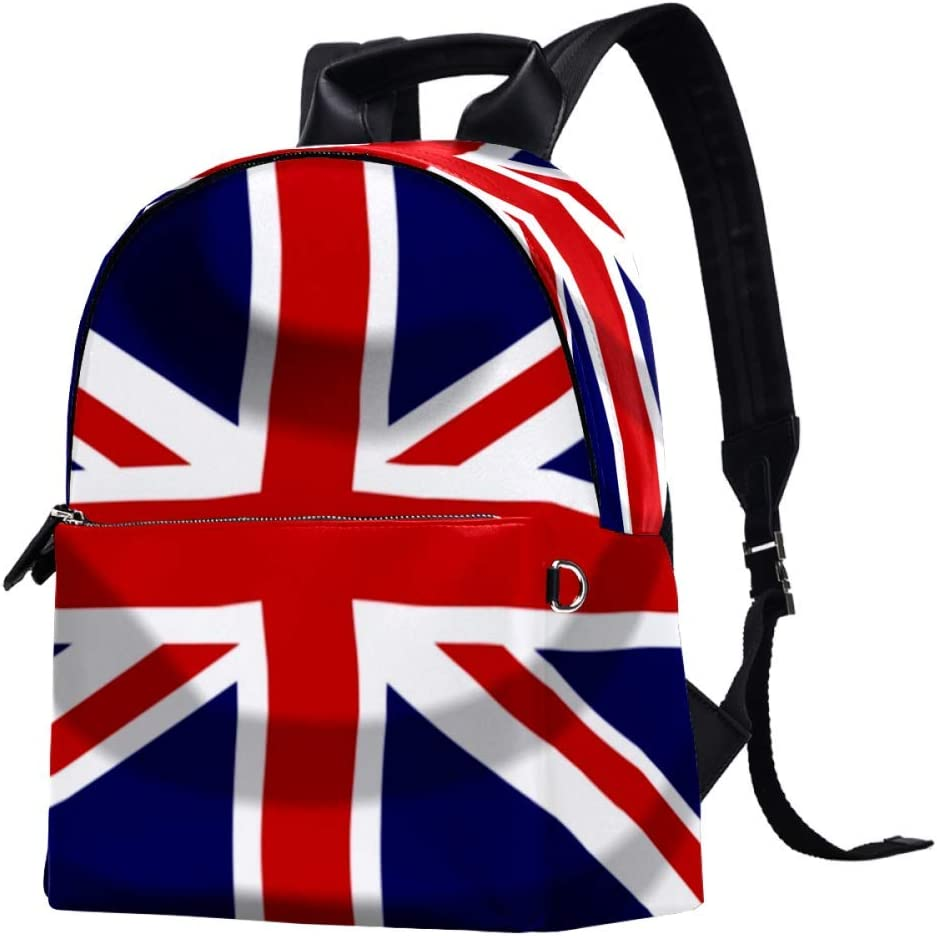 Union Jack Britain British Casual College Backpack Max Virginia Beach Mall 65% OFF Daypack