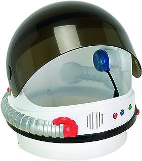 Aeromax Jr. Astronauta Casco con Visera Sonidos Y retráctil, Astronauta, Blanco, Talla única