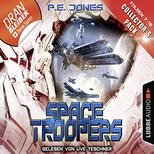 Space Troopers - Collector's Pack audiobook cover art