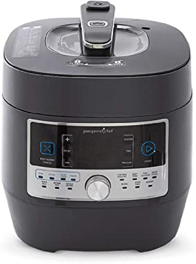 Pampered Chef 16-in-1 Pressure Cooker - #100011 Programmable Electric Multi Cooker | Rice Cooker | Saute | Steamer | Warmer |