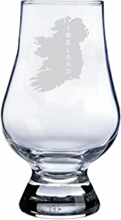 Ireland Themed Glencairn Whisky Glass
