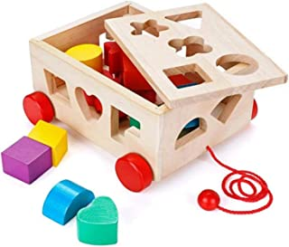 AM ANNA Shape Sorter Toy, Building Toys Children Educational Building Blocks Toys for Babies Early Educational Game Toy To...
