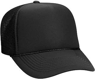 low profile foam trucker hat