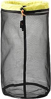 Seawang 巾着式 メッシュ収納袋 超軽量 便利 アイテム 旅行用 アウトドア 買い物 バッグ 保存用 ハイキング 万能収納ポーチ 重複利用可