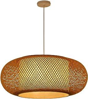 Amazon.es: lampara de bambu de techo