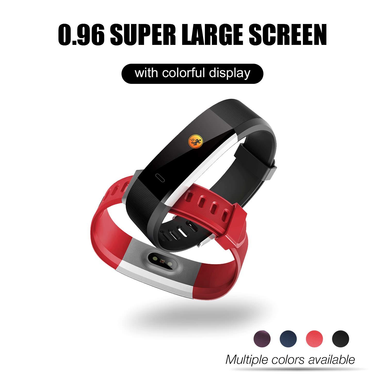 2WD Reloj Inteligente para Mujer/Hombre Pulsera Actividad ...