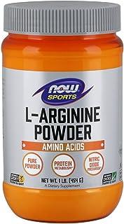 NOW Sports Nutrition, L-Arginine Powder, Nitric Oxide Precursor, Amino Acids, 1-Pound