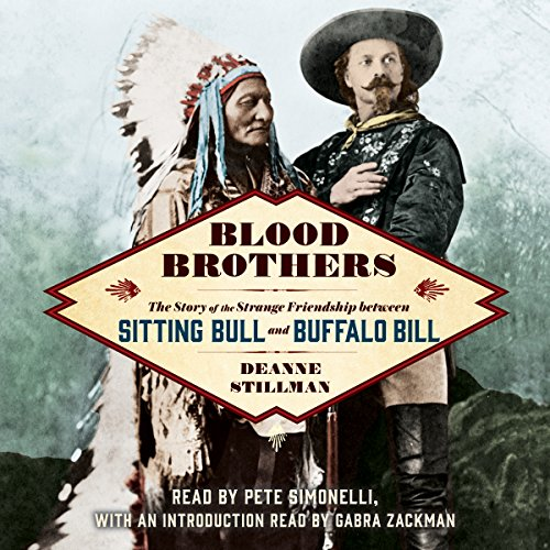 Blood Brothers     The Story of the Strange Friendship Between Sitting Bull and Buffalo Bill              De :                                                                                                                                 Deanne Stillman,                                                                                        Gabra Zackman - Introduction                               Lu par :                                                                                                                                 Pete Simonelli                      Durée : 8 h et 49 min     Pas de notations     Global 0,0
