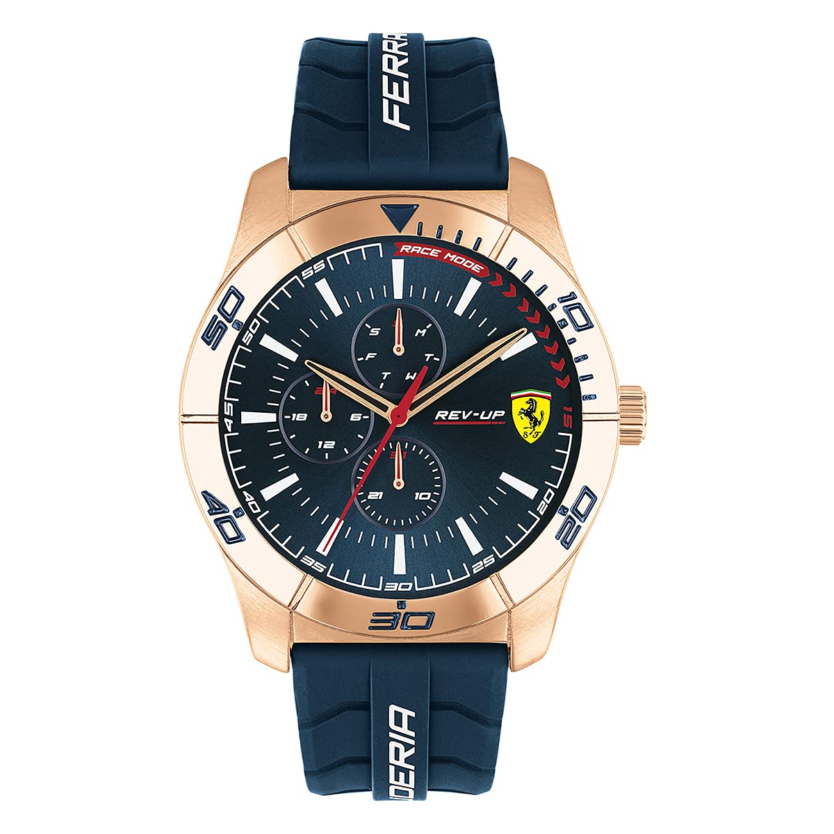 Scuderia Ferrari Analog Blue Dial Men's Watch-0830810