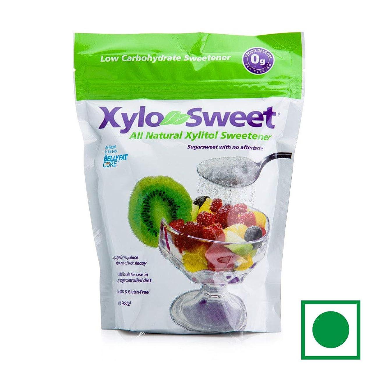 コントロール排他的病気だと思うXylosweet All Natural Low Carb Xylitol Sweetener 454 g