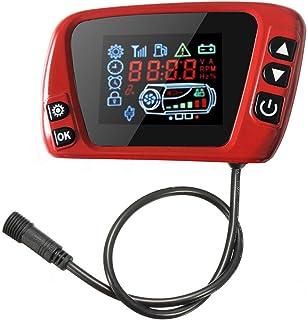 سوئیچ نمایشگر ترموستات LCD 12-24 ولت برای بخاری پارکینگ هوا دیزل پارکینگ هوا ، سوئیچ جهانی ترموستات بخاری هوا بخاری پارکینگ لوازم جانبی اتومبیل با صفحه نمایش LCD