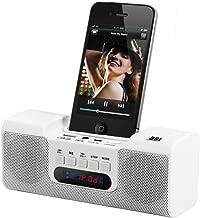 Bluetooth Docking Speaker with Radio and Clock