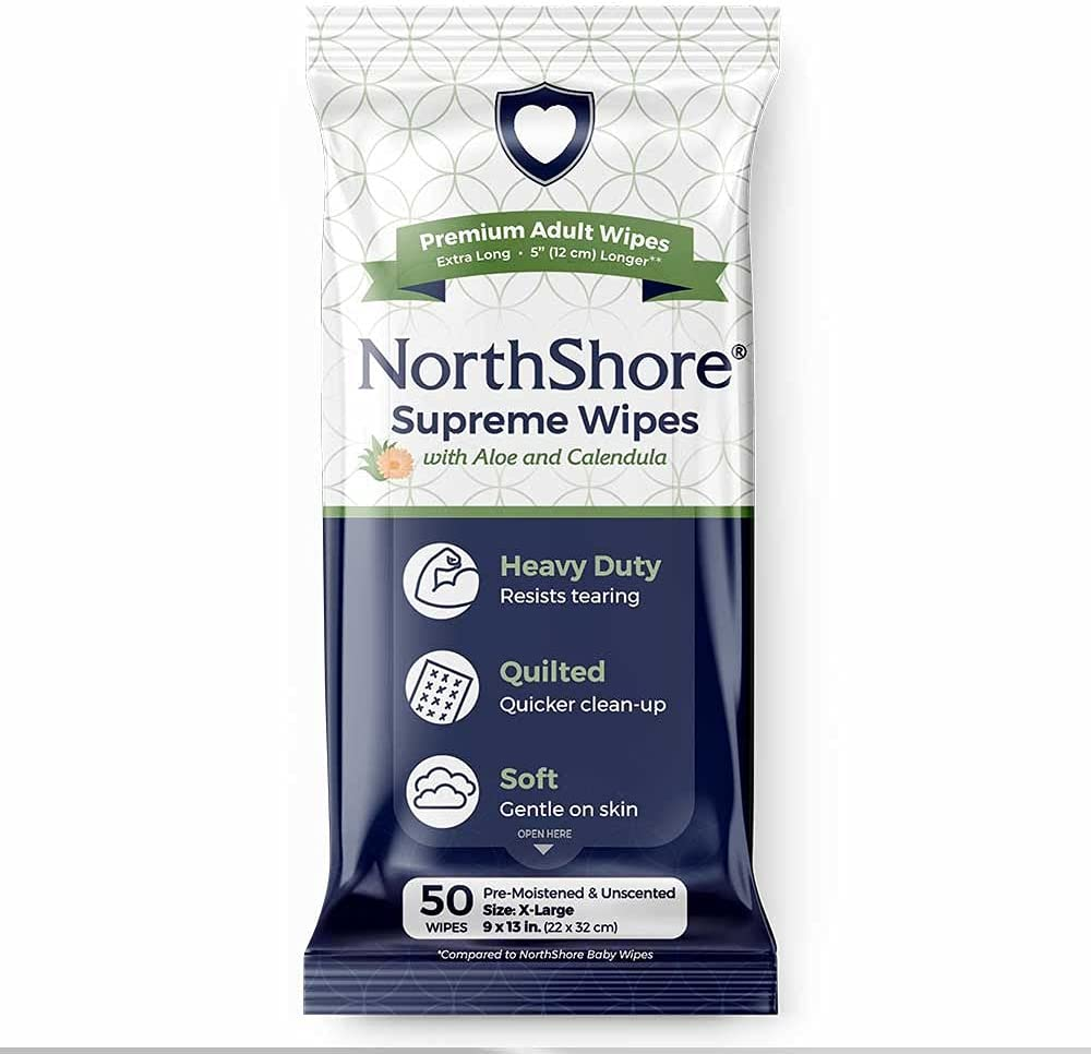 NorthShore Supreme Heavy-Duty Quilted X-Large Case 70% OFF Outlet Wipes Easy-to-use 300