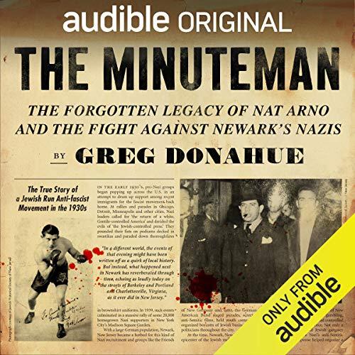 The Minuteman audiobook cover art
