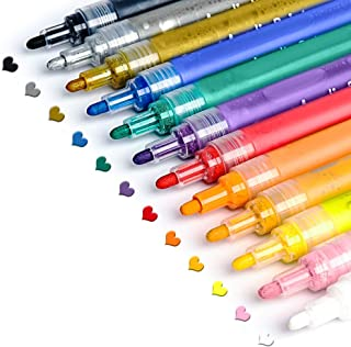 Acrylic Paint Pens for Rocks Painting, Ceramic, Glass,...