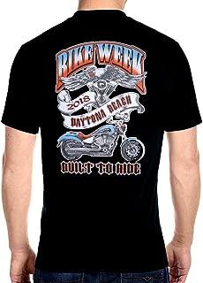 Mens Bike Engine Daytona Beach Bike Week 2018 Tee Shirt