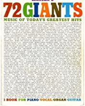 Hansen's 72 Giants: The New Music of Today's Greatest Hits (Piano/Vocal/Organ/Guitar)