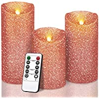 Y Yuegang Luxury Flameless LED Candles Wedding Decor Gifts