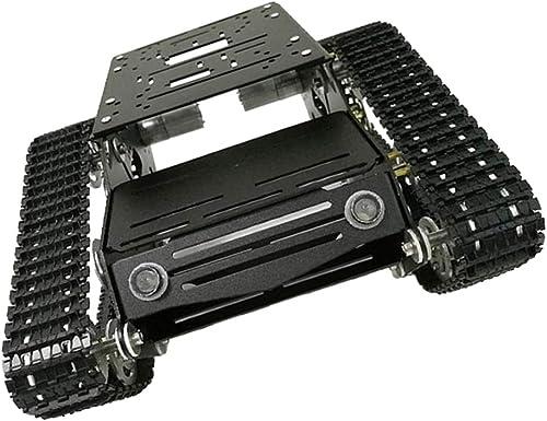 F Fityle Panzer Chassis Roboter Plattform Tank Fahrgestell für Arduino, ca. 300 x 240 x 122 mm - 9V Motor mit Coderad