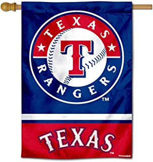WinCraft Texas Rangers Double Sided House Flag