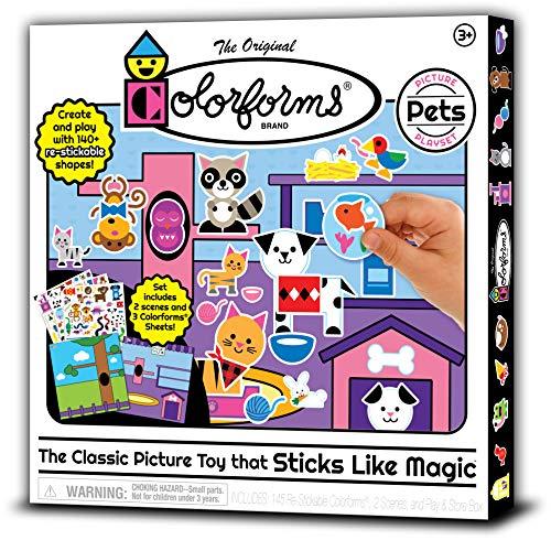 Colorforms Picture Play Set – Pets