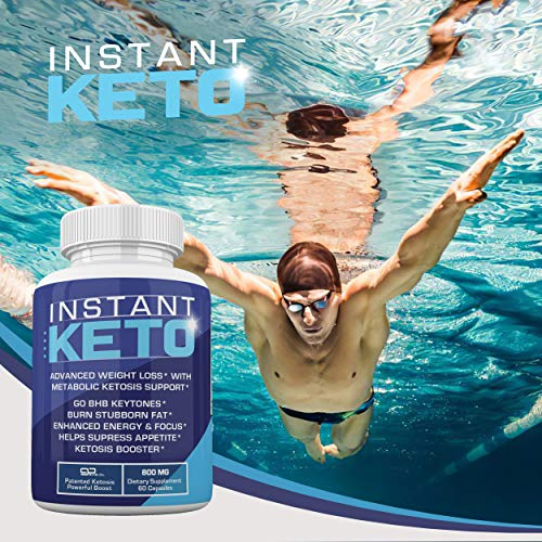 Instant Keto - Advanced Weight Loss with Metabolic Ketosis Support - 800MG - 60 Pills - 30 Day Supply 4