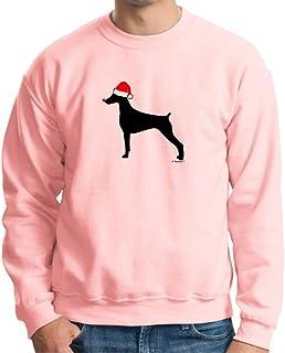 Best Merry Grristmas Christmas Doberman Pinscher Santa Hat Crewneck Sweatshirt Review