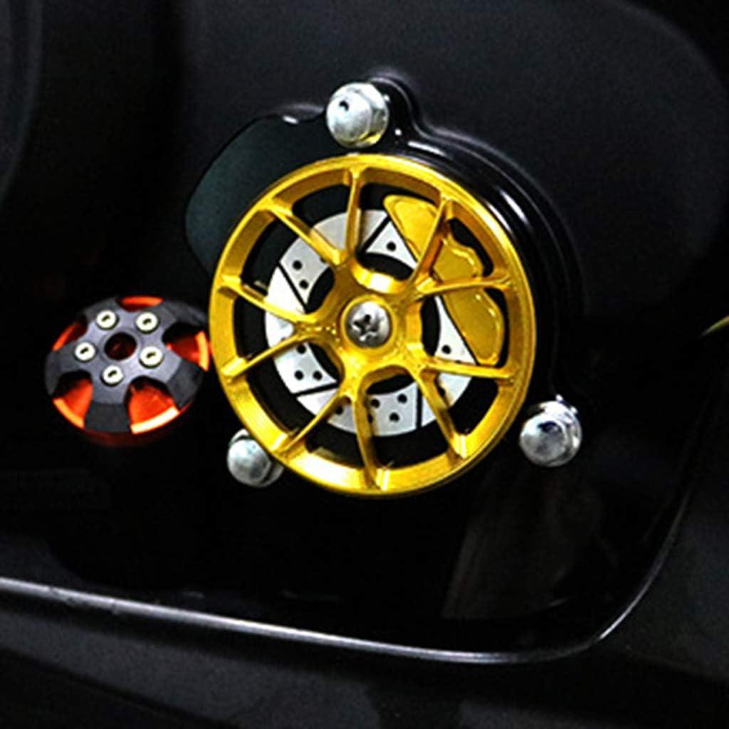 Giallo B Blesiya Tappo Copri Tappo Olio Motore CNC per Kawasaki ER6N F 2006-2014