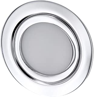 Foco empotrable LED fino para muebles, completo de metal,