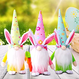 Sponsored Ad - 3pc Easter Bunny Gnome Decoration Easter Faceless Doll Easter Plush Dwarf Home Party Decorations Kids Toys ...